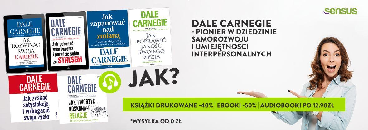 Promocja na ebooki Dale Carnegie | Książki drukowane 40% TANIEJ Ebooki 50% TANIEJ Audiobooki po 12.90zł!